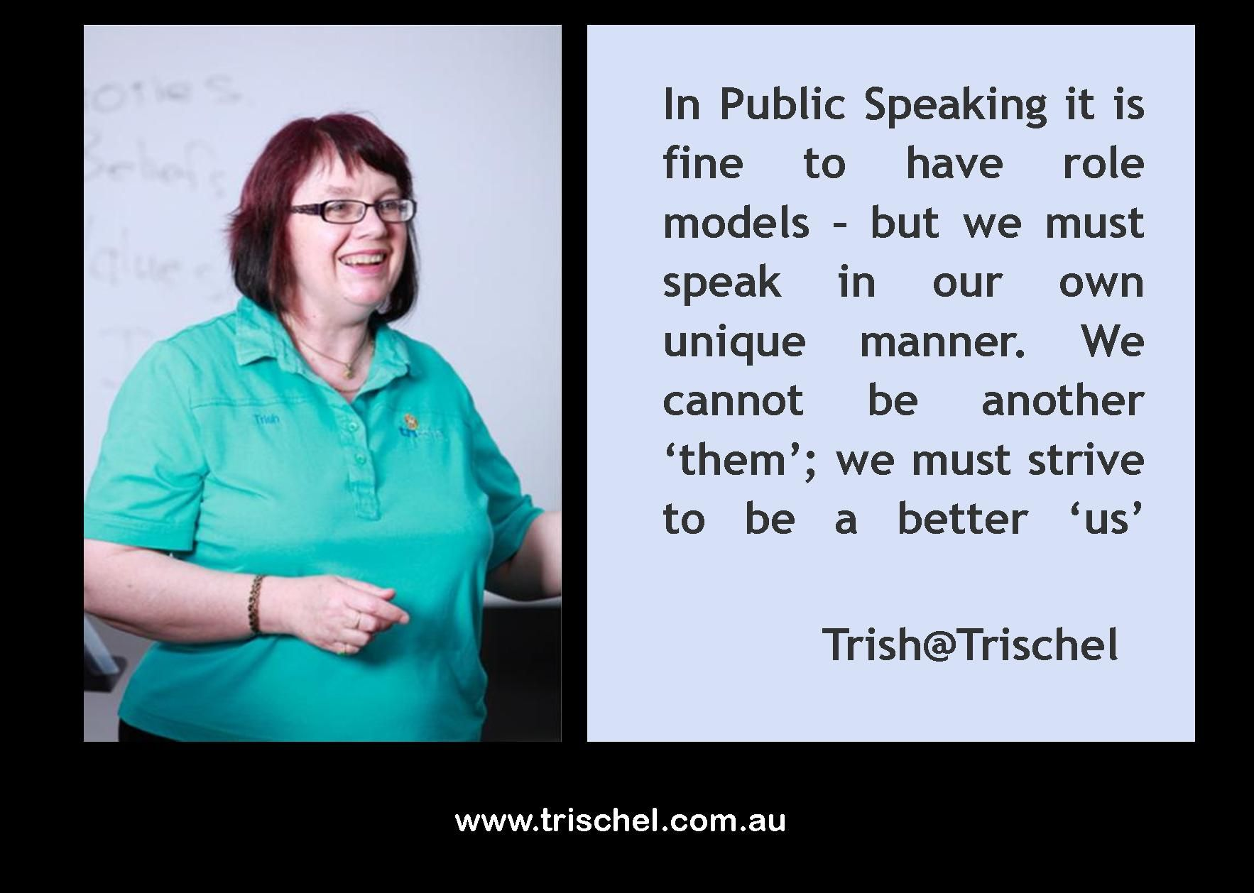 Quotes About Public Speaking An Important Aspect Of Public Speaking Is To Be Your Self Only