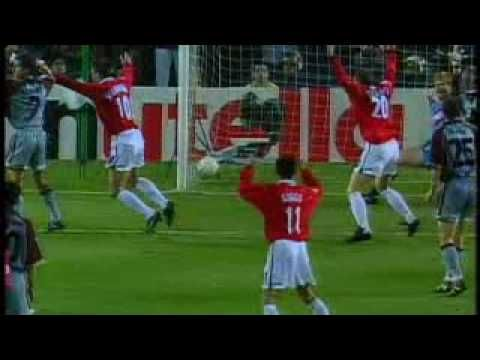 Greatest Moment In Football History Manchester United Champions League Final Bayern Munich