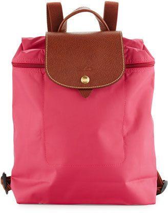 c8641e6eb42e Longchamp Le Pliage Nylon Backpack