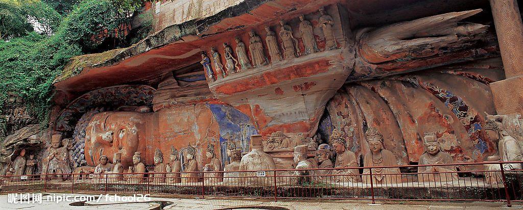 Dazu Rock Carvings, Chongqing