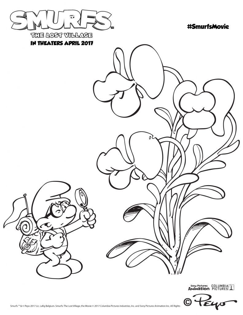 Smurfs Activities - Over 15 Smurfs Activity Pages | Smurfs ...