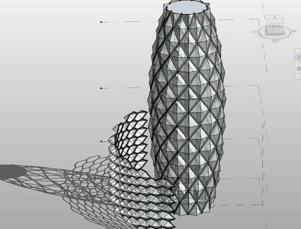 Revit Archi Concrete Cladding Panels As Curtain Walls Revit Architecture Architecture Program Parametric Architecture