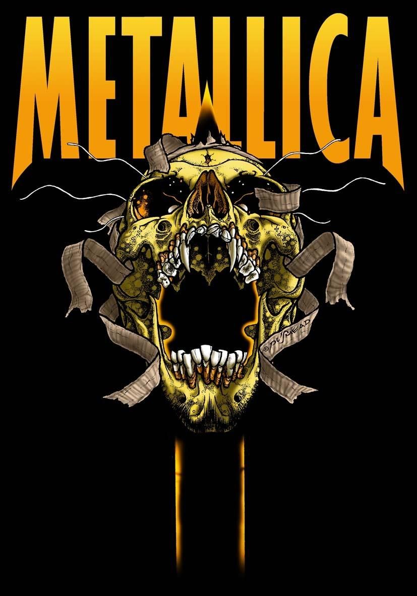metallica Cool Band Art and what not...... Pinterest