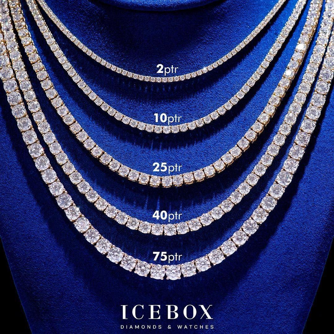 What Size Diamond Necklace Would You Want Shop Now Www Icebox Com Diamondne Womens Diamond Necklace Diamond Jewelry Necklace Diamond Solitaire Necklace