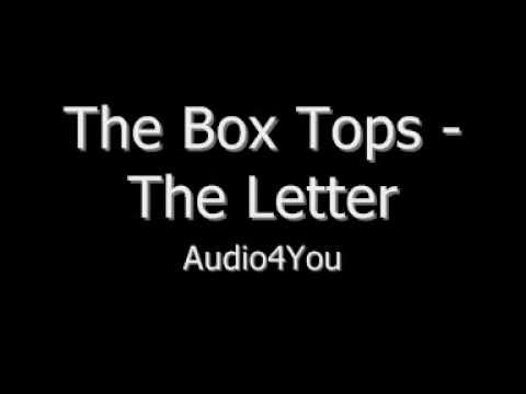 ▷ The Box Tops The Letter
