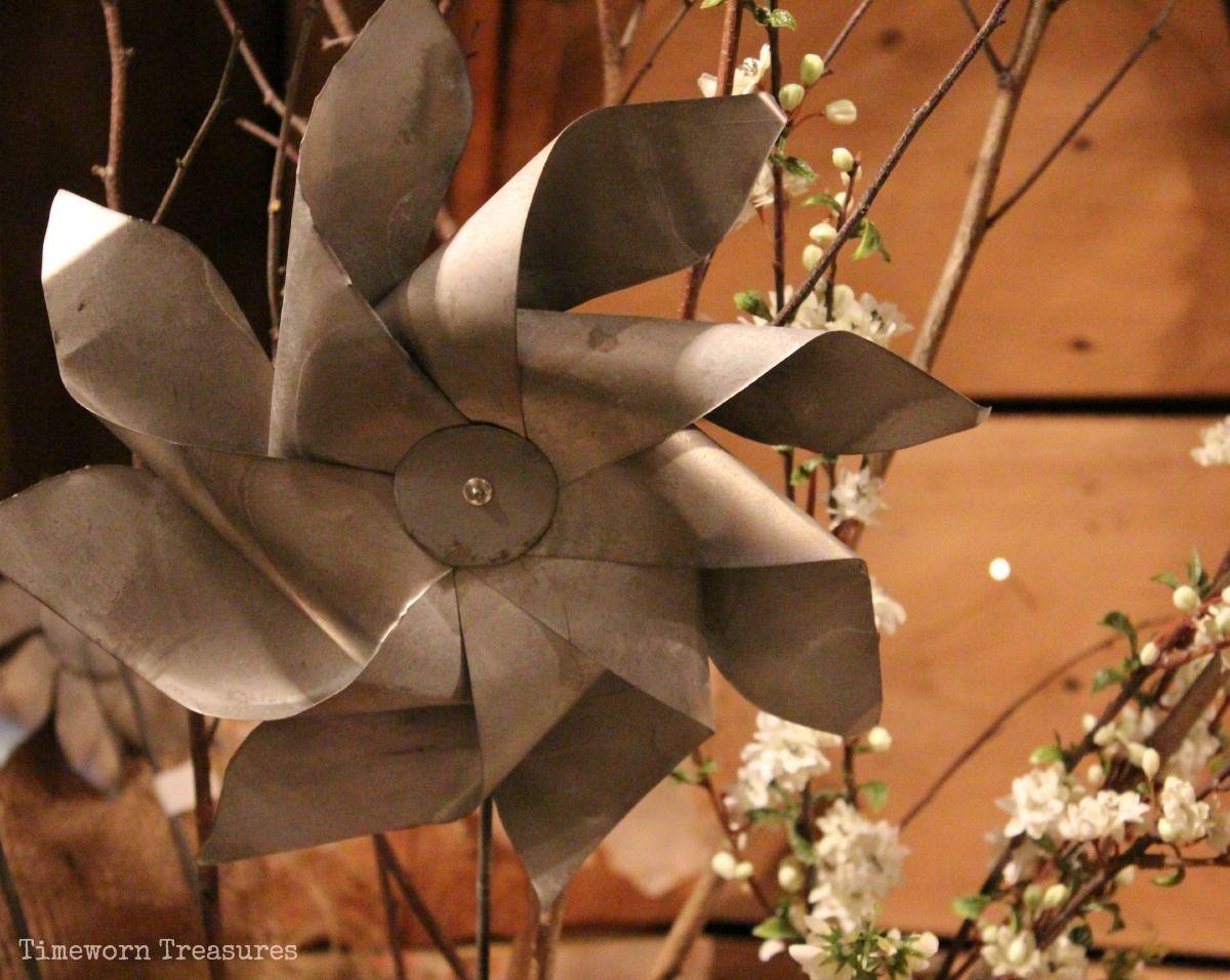 Metal pinwheels | Spring & Summer - Timeworn Treasures | Pinterest ...