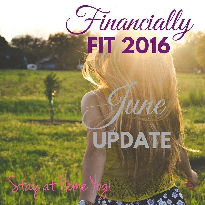 From #FridayFrivolity - June Financial Goals Update | Financially Fit 2016