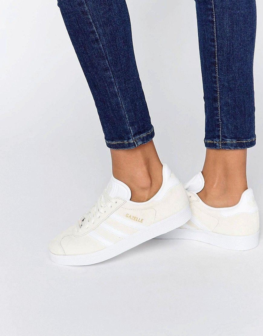 Adidas Gazelle Blanc Cuir