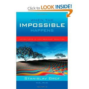 When the Impossible Happens - stories from Stanislav Grof - the pioneer of LSD therapy - talking about his own other worldly experiences with and without hallucinogenics - really interesting..