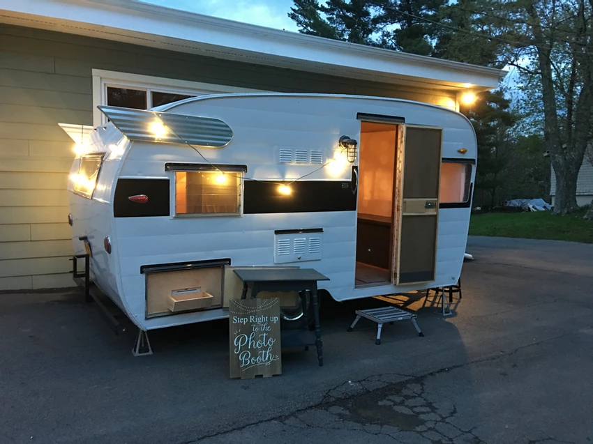 Flash the Photo Booth Trailer SOLD FOR SALE NOW in 2020