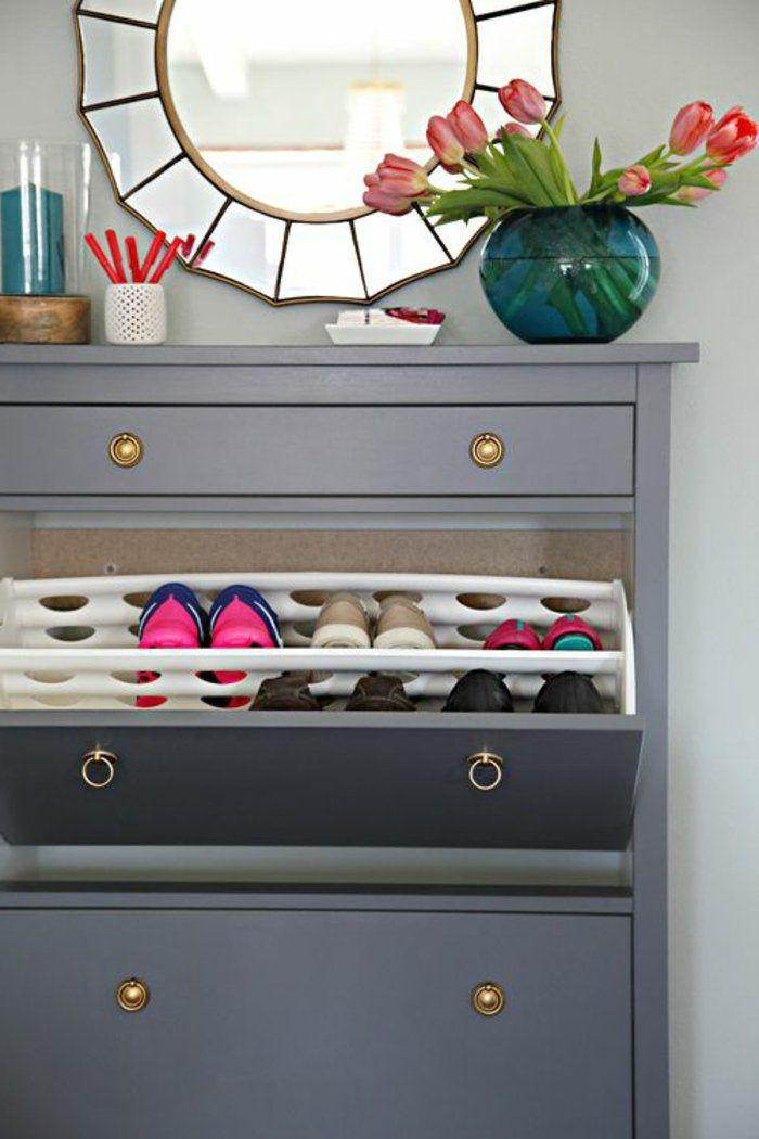 1 les la meubles à chaussures dans la les maison contemporaine fleurs sur 7cd976