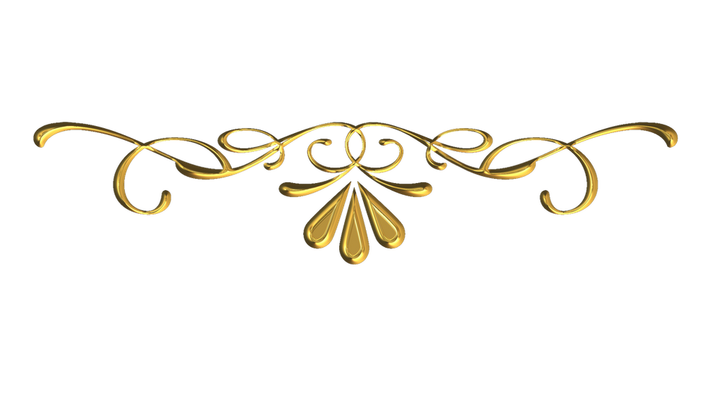 Scrollwork 10 Gold By Victorian Lady On Deviantart In 2021 Gold Clipart Frame Border Design Clip Art Borders