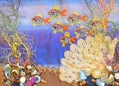 crazy quilting - way talented lady