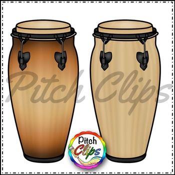 Conga Drums Clip Art