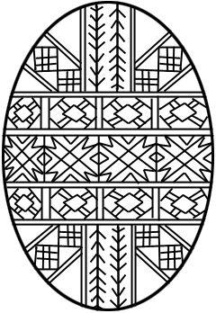 Nice Geometric Designs Here Easter Egg Coloring Pages Easter Coloring Pages Egg Coloring Page