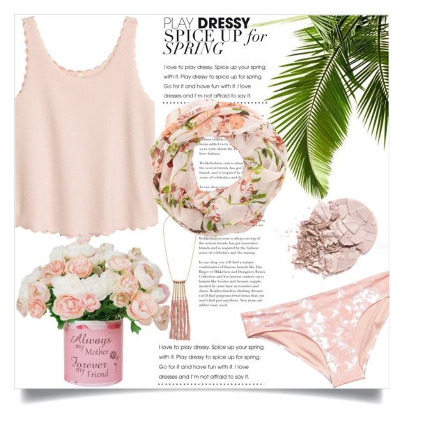 """""""Bez naslova #3014"""" by kristina-bishkup ❤ liked on Polyvore featuring H&M and New Look"""