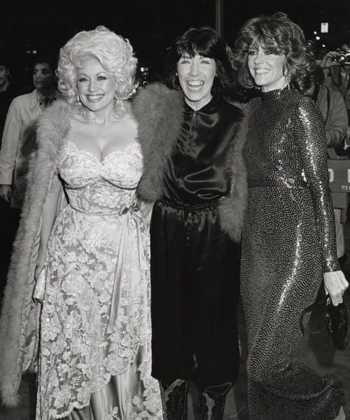 9 to 5 Premiere (Dolly Parton, Lily Tomlin, Jane Fonda)