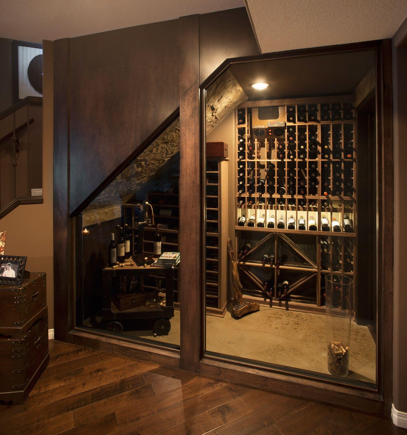 Basement Development - Wine Cellar | por1 | Pinterest