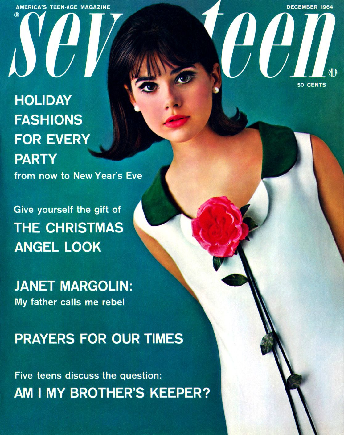 Colleen Corby, top model for Seventeen in the 1960s ...