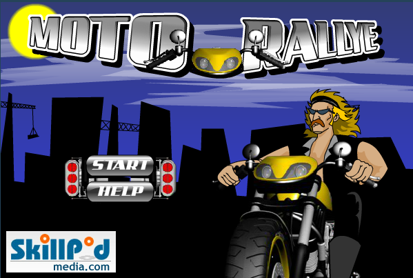 Moto Rally is a bike racing game where you have to avoid obstacles in order to reach your destination!