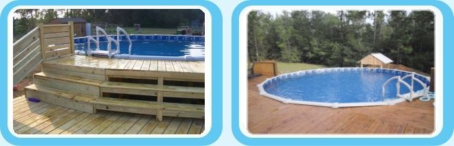 Above Ground Pools Blue World Pools Pool Installation In