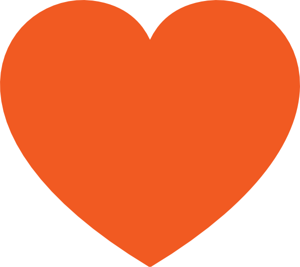 Free Pictures Hearts Orange Heart Clip Art Vector Clip Art Online Royalty Free Public Boa Noite Coracao