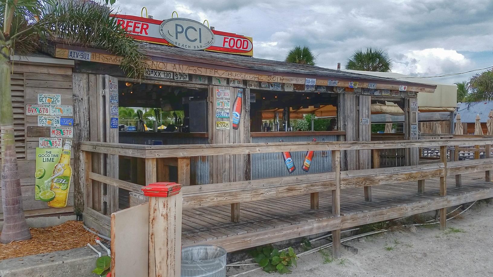 The Beach Bar At Postcard Inn A