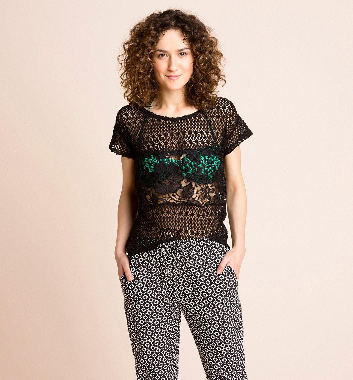 Damen T-Shirt in schwarz - Mode günstig online kaufen - C&A
