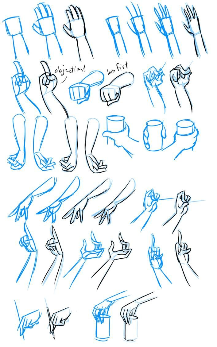 Hands by Py-Bun on DeviantArt