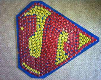 Superman Beer Cap Art