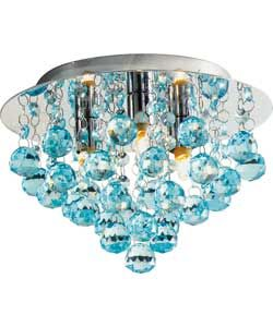 Living Joy Flush Droplets Ceiling Fitting Duck Egg Wall Ceiling Lights Ceiling Ceiling Lights
