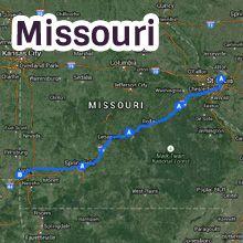 Route Maps Driving Route Route Pinterest Route - Original route 66 map