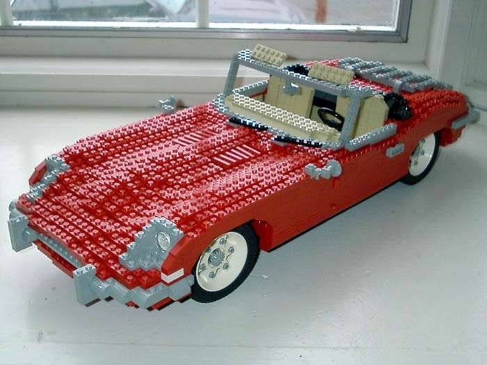 Lego Models: American Muscle