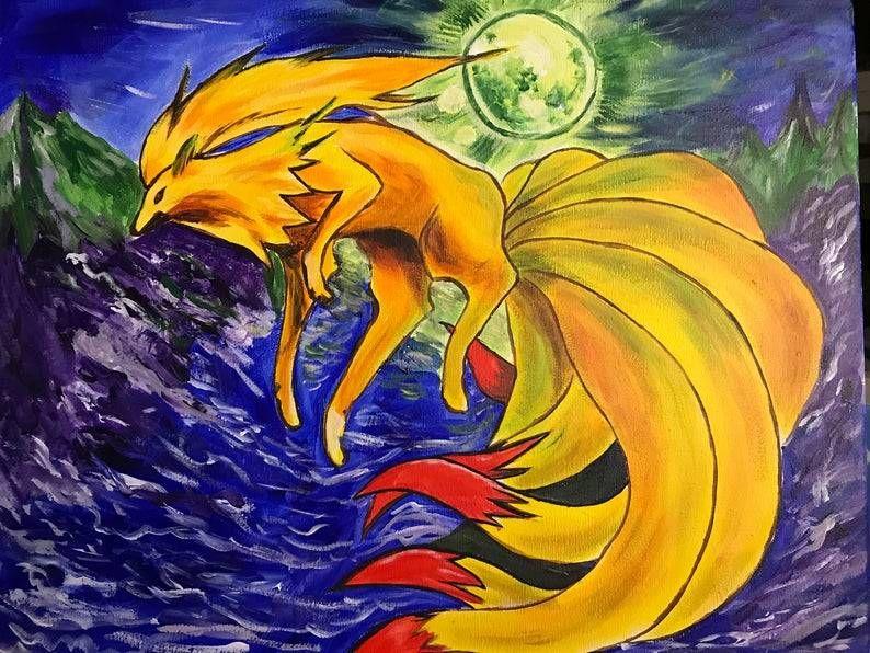 Pokemon Paintings made by Rita Rocket -