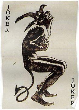 'Joker evil' Poster by Oscarrrr
