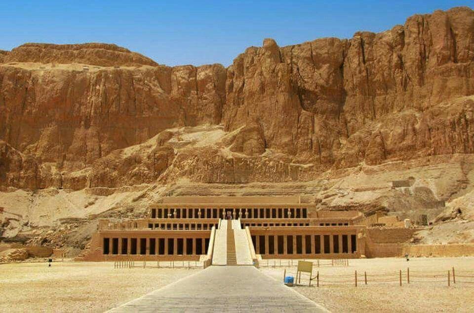 #Temple_of_Queen_Hatshepsut (#Deir_el-#Bahari) #Luxor_Egypt