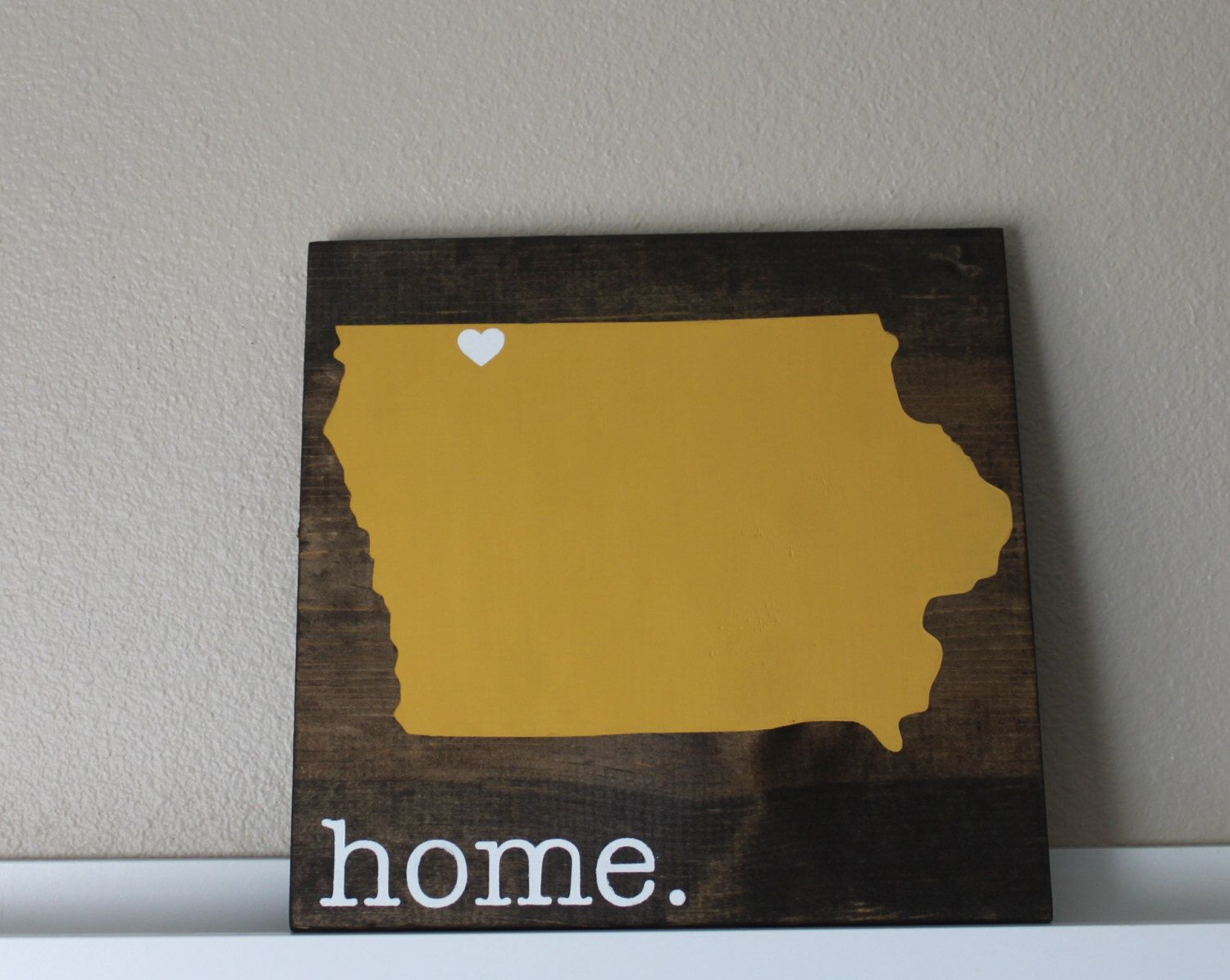 Personalized Wood Wall Art iowa wood sign, state sign, custom wood sign, pallet sign