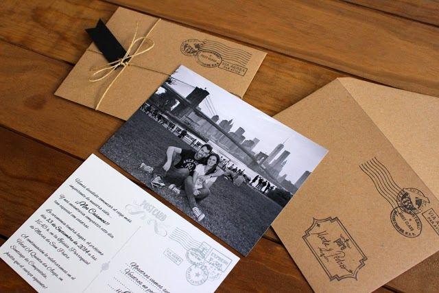 invitaciones-de-boda-originales-postal-viajes-craft-hermanas-bolena - invitaciones para boda originales