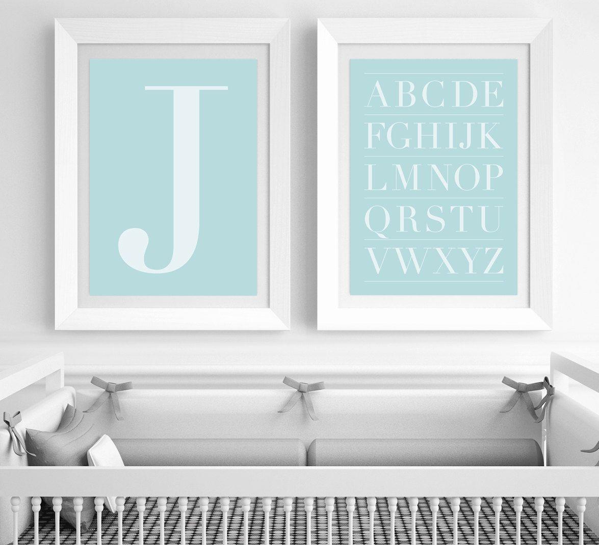 Letter J Wall Art Blue Letter J Wall Art Baby Boy Nursery Kids Room Office  Baby