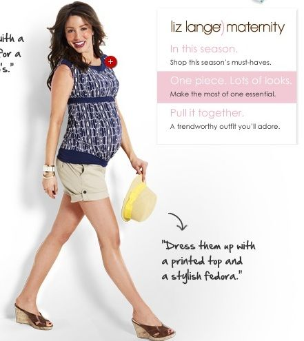 models expecting Target maternity