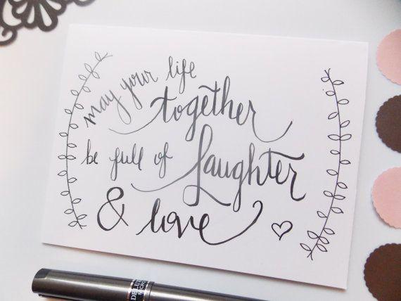 Wedding Card Bridal Shower By Hydoodykatie On Etsy