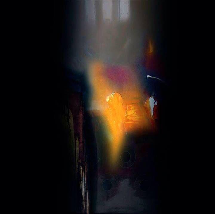 Escritura de la noche... Resurrección de la luz. José Luis Bustamante, pintor mexicano.