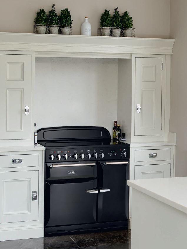 AGA Masterchef Coloris BLACK Induction Fourneaux Pianos De - Cuisiniere a induction pour idees de deco de cuisine