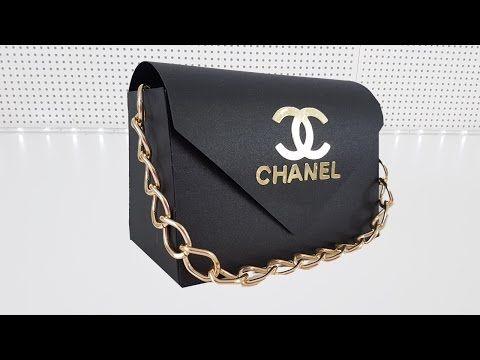 fe9b32cd4 Lembrancinha de 15 anos | Bolsa Chanel inspiração | Viviane Magalhães -  YouTube