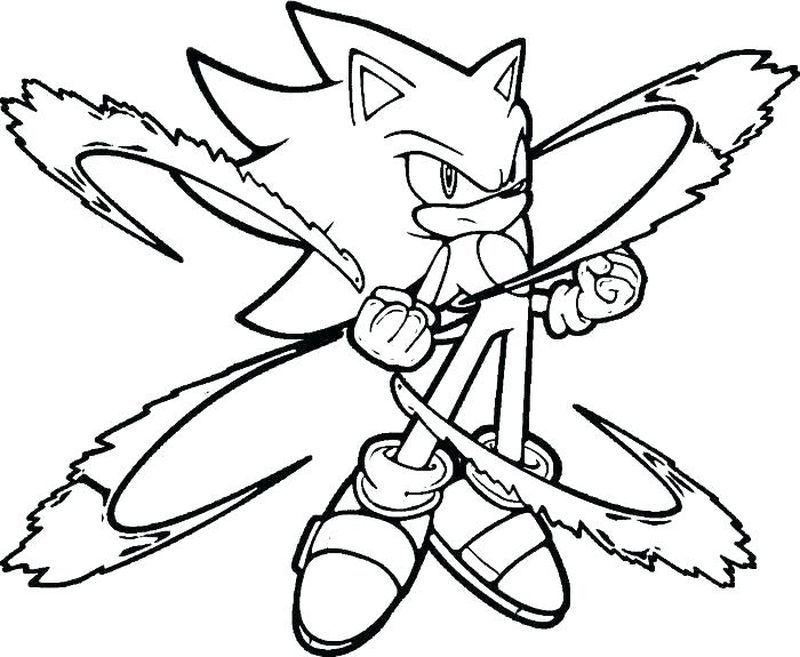 Sonic The Hedgehog Coloring Pages Hedgehog Colors Free Coloring
