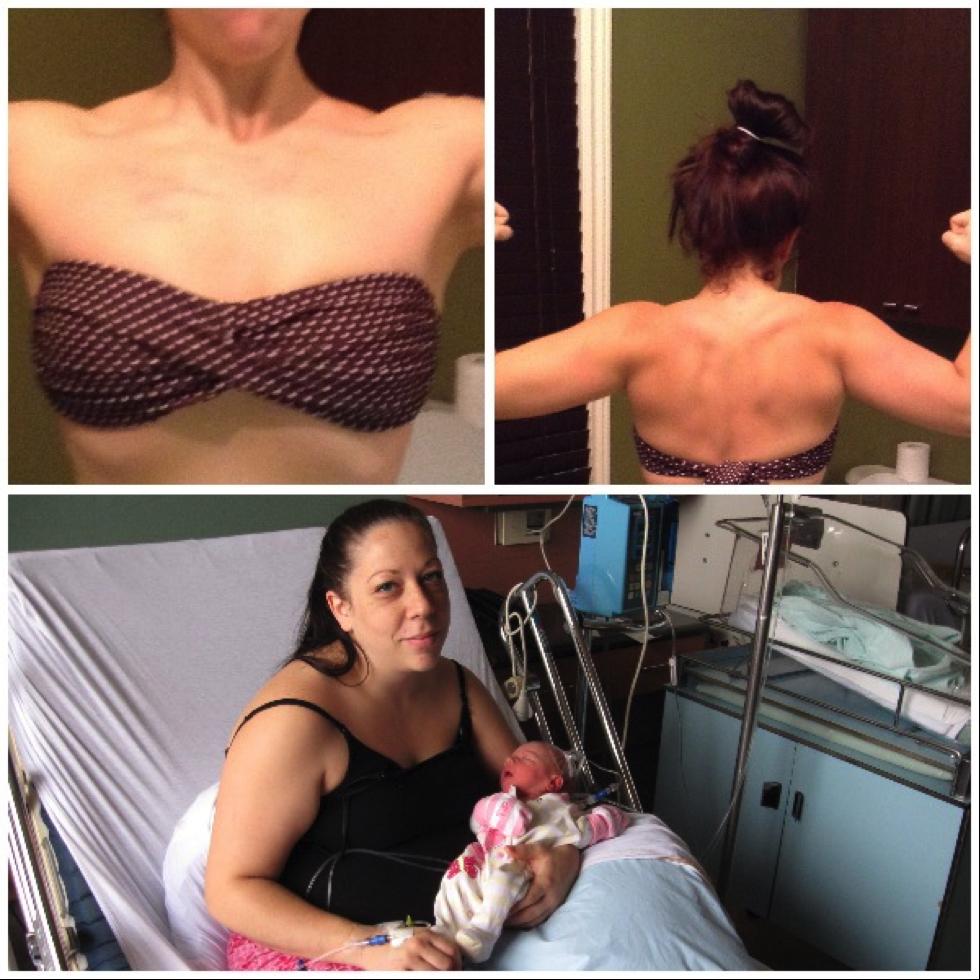 Perdre 70 livres en 10 mois après une deuxième grossesse #poids #grossesse #fitness