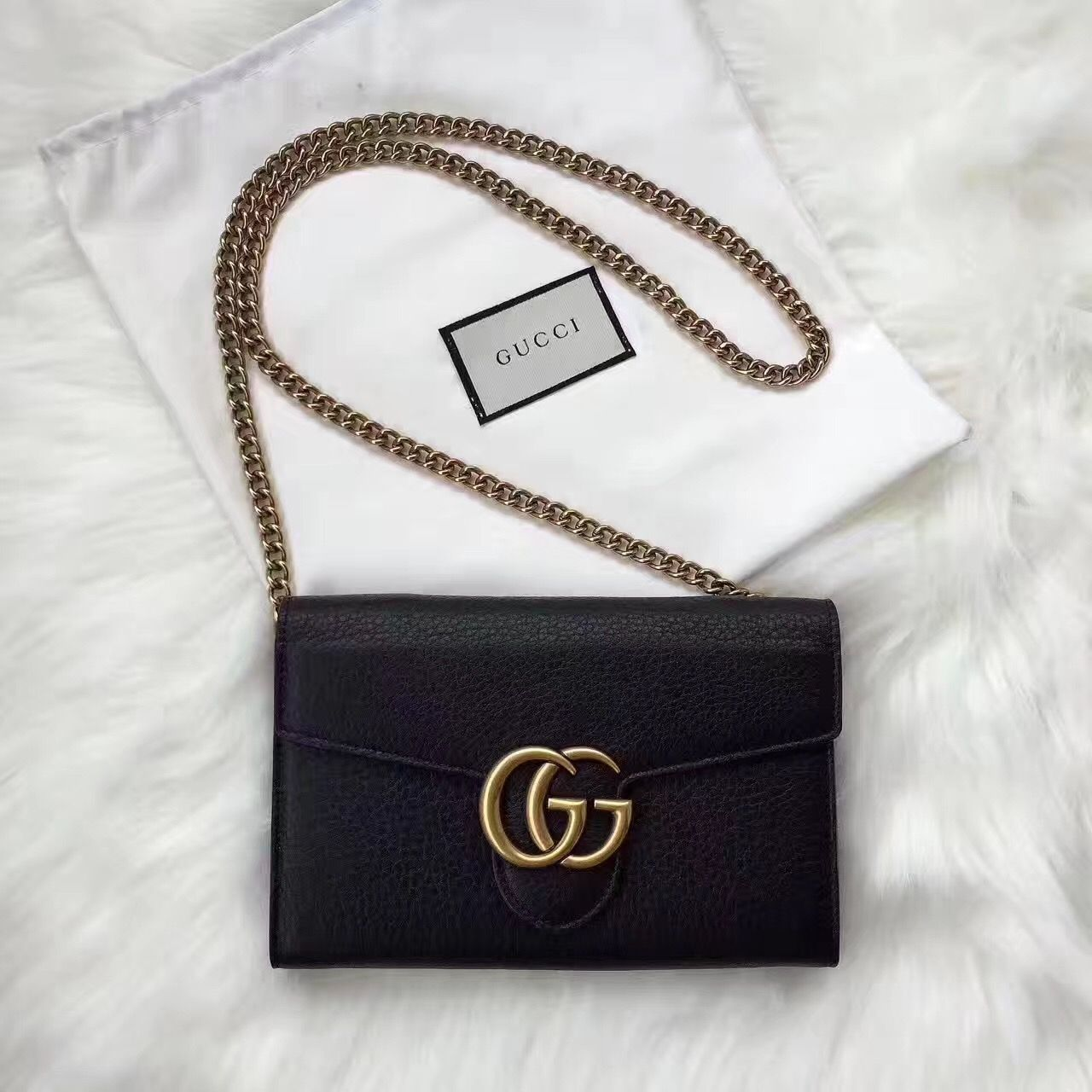 d975aeb6cc01fe Gucci Black Purse, Classic But Trendy in 2019 | GUCCI | Bags ...