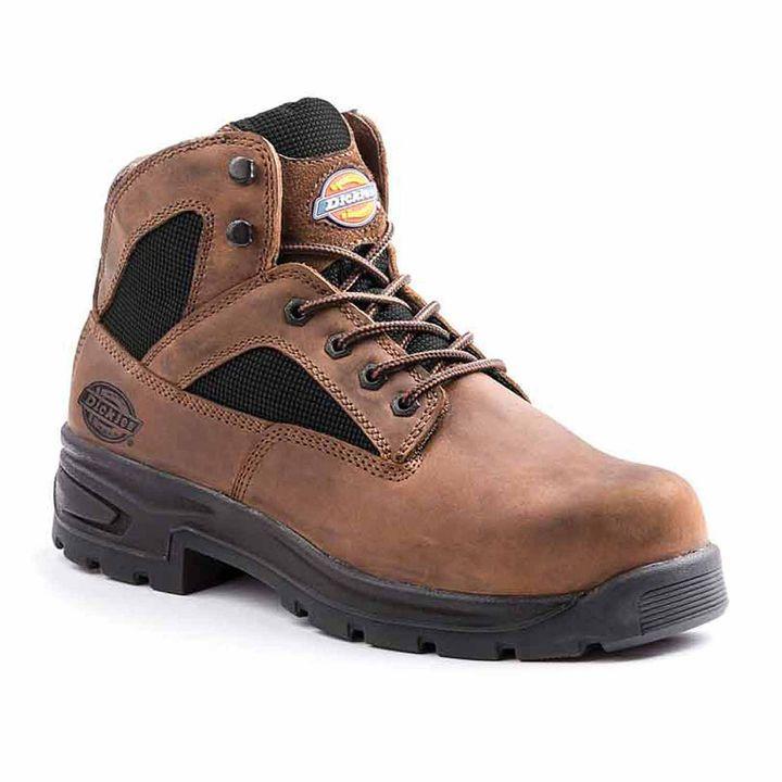 e092ba1d989a Dickies Buffer Mens Slip Resistant Steel Toe Work Boots