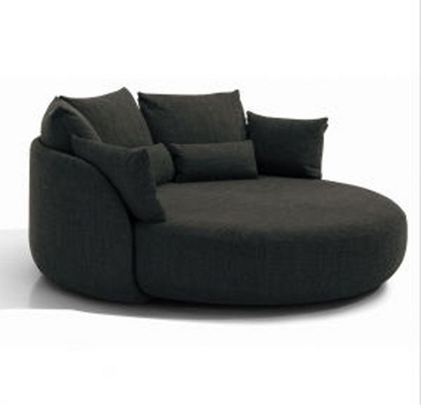 Sit Pretty On Tiamat 200 Media Room Decor Round Sofa Round