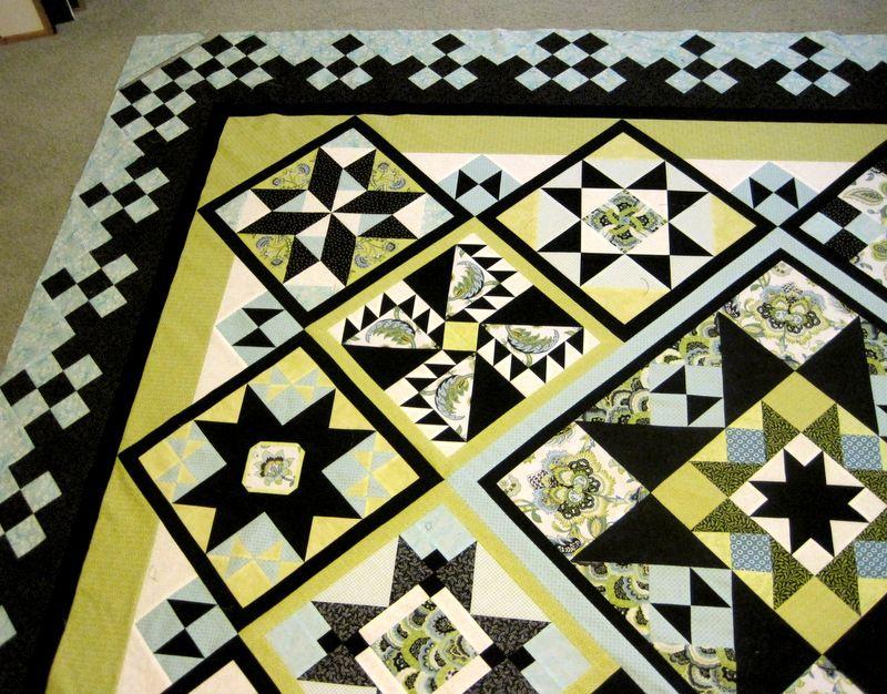 Reach for the Stars sampler quilt » First Light Designs | RFTS ... : quilt settings - Adamdwight.com
